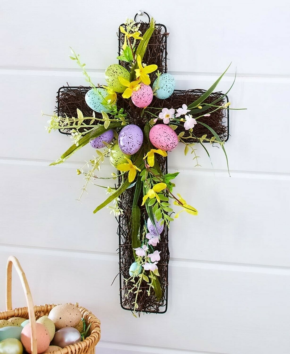 Charming Easter Wall Decoration Ideas That Inspire You Today 38
