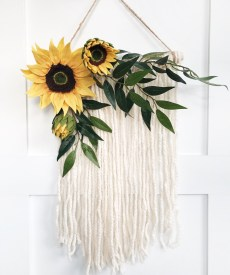 Cool Wood Sunflower Wall Decor Ideas That You Need To Try 03