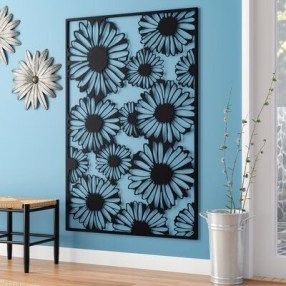 Cool Wood Sunflower Wall Decor Ideas That You Need To Try 10