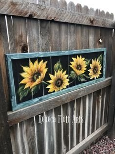 Cool Wood Sunflower Wall Decor Ideas That You Need To Try 29
