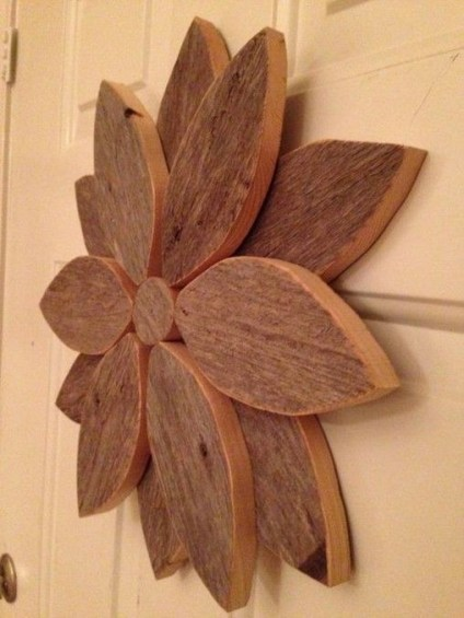 Cool Wood Sunflower Wall Decor Ideas That You Need To Try 40