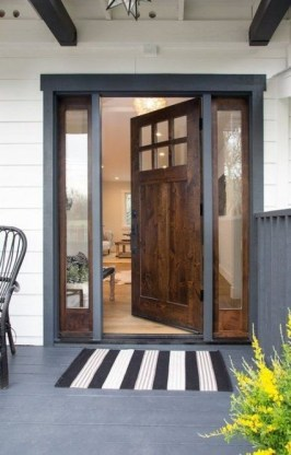 Incredible Glass Doors Ideas For Exterior Design To Try Today 18