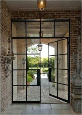 Incredible Glass Doors Ideas For Exterior Design To Try Today 24