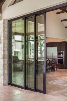 Incredible Glass Doors Ideas For Exterior Design To Try Today 42