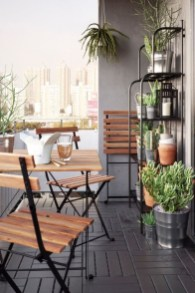Incredible Small Apartment Balcony Design Ideas On A Budget To Try Asap 19
