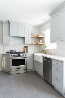 Lovely Floor Kitchen Tile Design Ideas That Make You Amazed 01