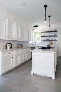 Lovely Floor Kitchen Tile Design Ideas That Make You Amazed 02