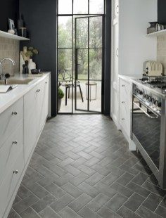 Lovely Floor Kitchen Tile Design Ideas That Make You Amazed 12