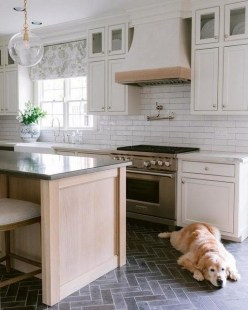 Lovely Floor Kitchen Tile Design Ideas That Make You Amazed 14