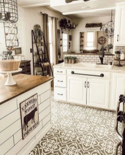 Lovely Floor Kitchen Tile Design Ideas That Make You Amazed 32