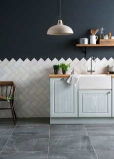 Lovely Floor Kitchen Tile Design Ideas That Make You Amazed 48