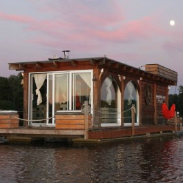 Magnificient Houseboat Design Ideas With Imaginative Dream 40