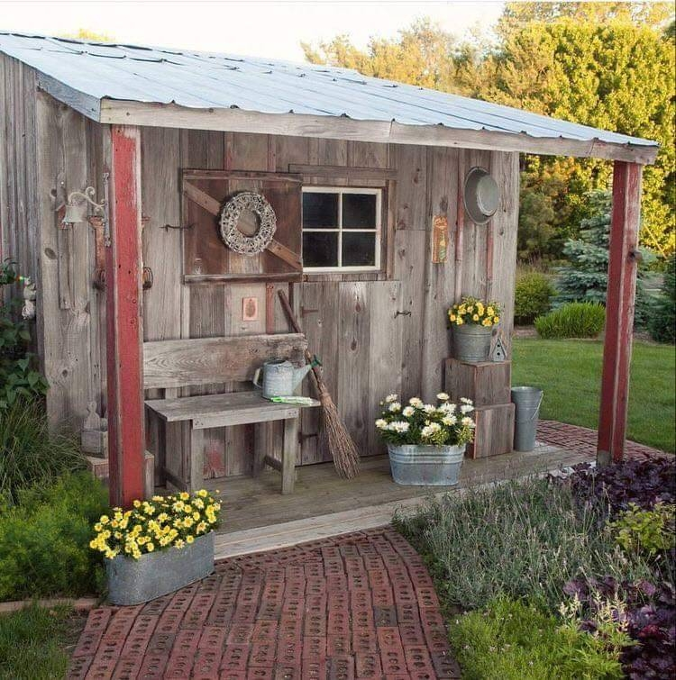 Marvelous Diy Backyard Shed Design Ideas That You Have To Know 03