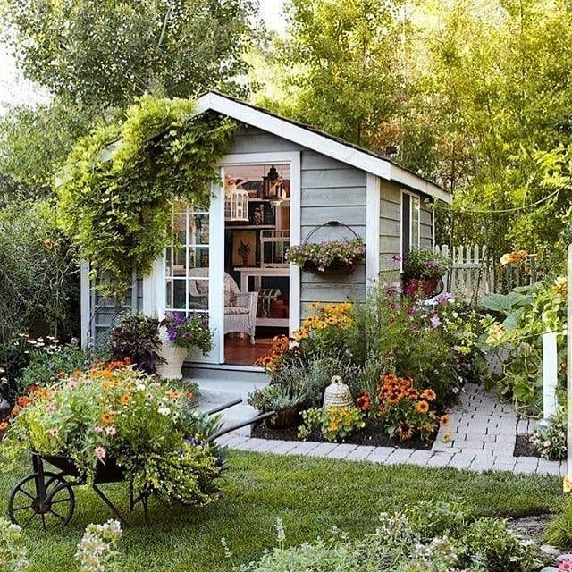 Marvelous Diy Backyard Shed Design Ideas That You Have To Know 07