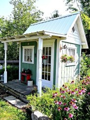 Marvelous Diy Backyard Shed Design Ideas That You Have To Know 19