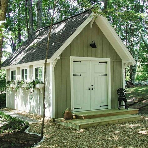 Marvelous Diy Backyard Shed Design Ideas That You Have To Know 22