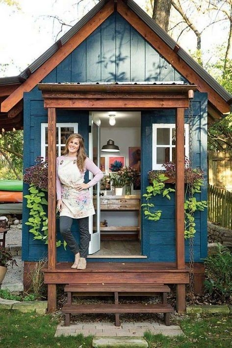 Marvelous Diy Backyard Shed Design Ideas That You Have To Know 26