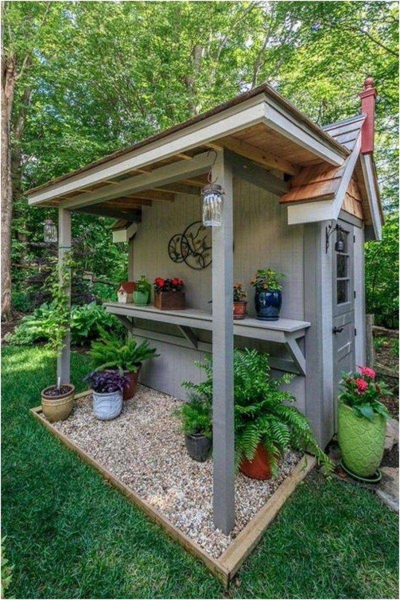 Marvelous Diy Backyard Shed Design Ideas That You Have To Know 28