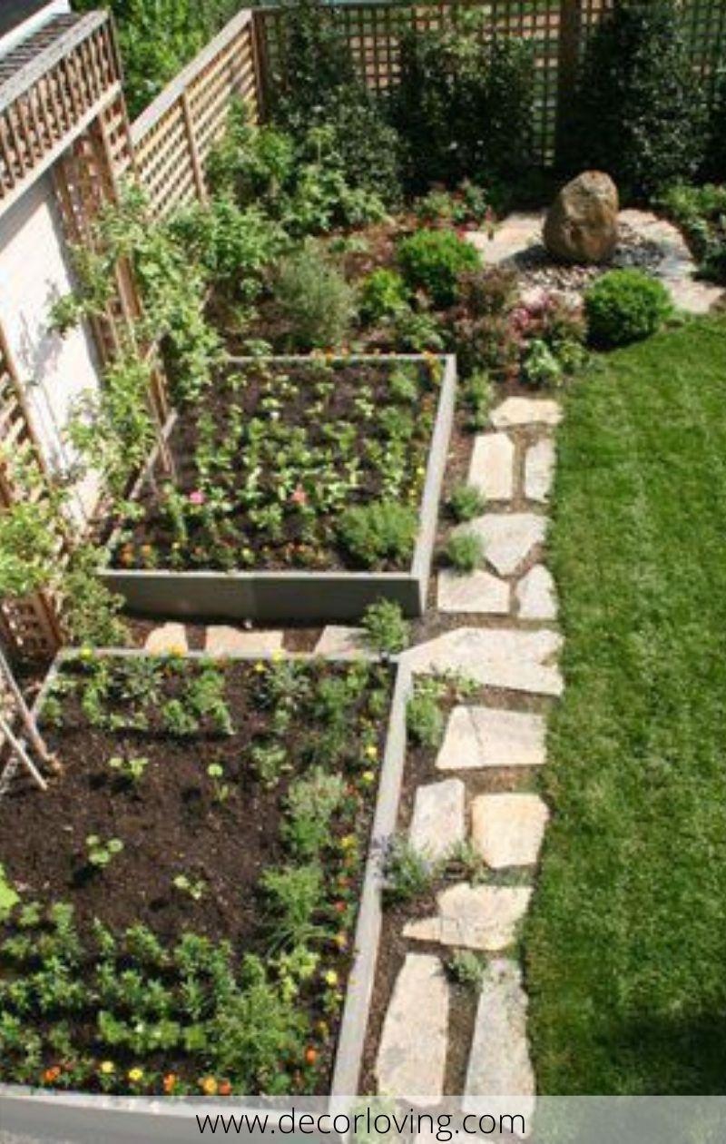 Rustic Vegetable Garden Design Ideas For Your Backyard Inspiration 05
