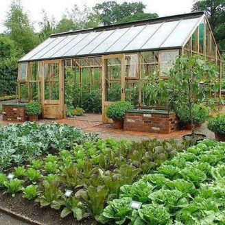 Rustic Vegetable Garden Design Ideas For Your Backyard Inspiration 07