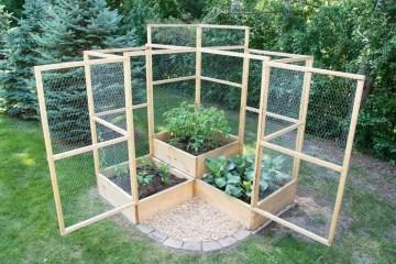 Rustic Vegetable Garden Design Ideas For Your Backyard Inspiration 17