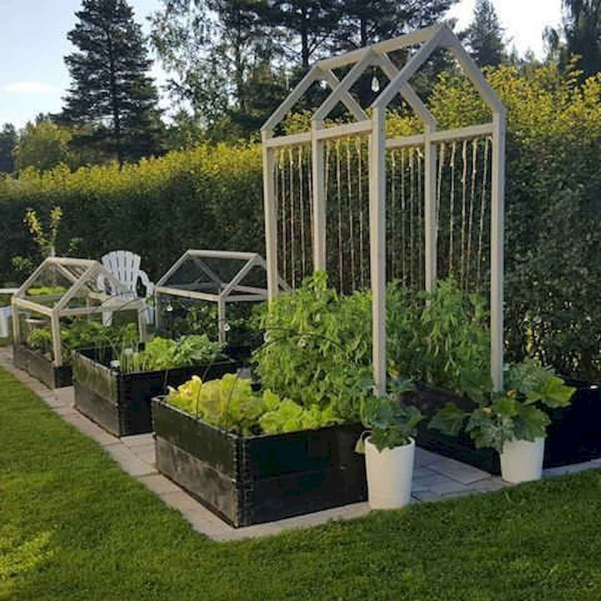 Rustic Vegetable Garden Design Ideas For Your Backyard Inspiration 18
