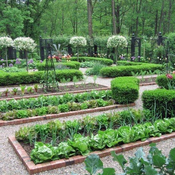 Rustic Vegetable Garden Design Ideas For Your Backyard Inspiration 22