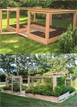 Rustic Vegetable Garden Design Ideas For Your Backyard Inspiration 23
