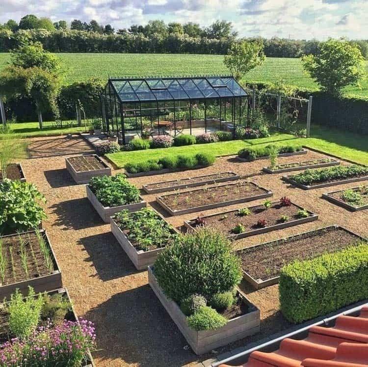 Rustic Vegetable Garden Design Ideas For Your Backyard Inspiration 29