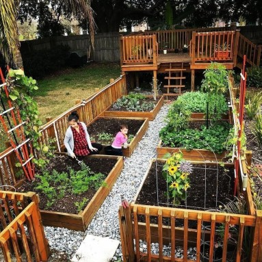 Rustic Vegetable Garden Design Ideas For Your Backyard Inspiration 32