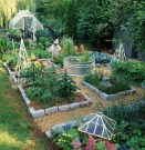 Rustic Vegetable Garden Design Ideas For Your Backyard Inspiration 40