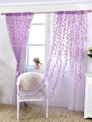 Stunning Bedroom Decoration Ideas With Flower Curtain To Try Right Now 35