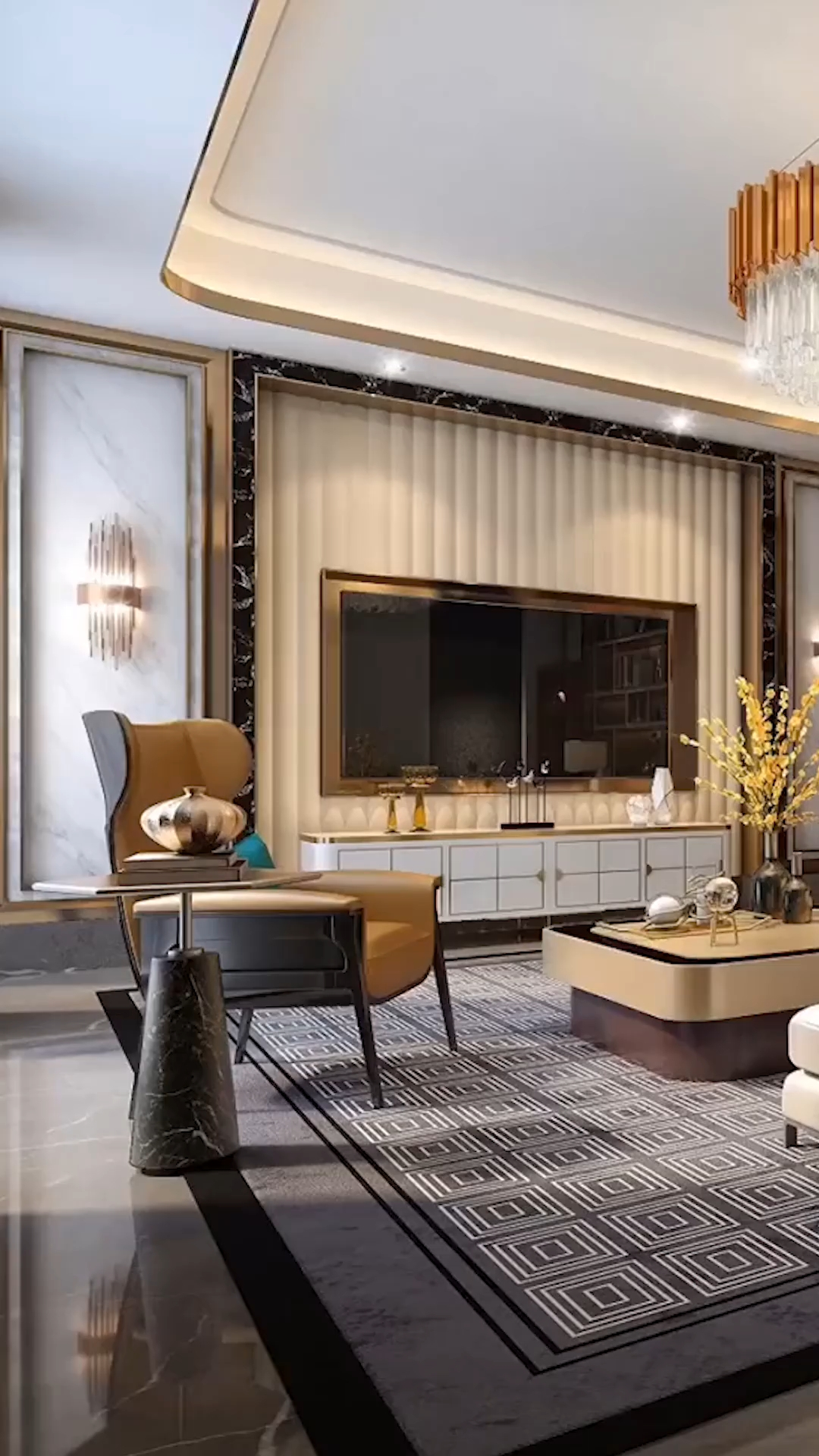 Stylish Bedroom Design Ideas With Tv Wall To Try Asap 05