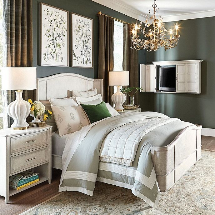 Stylish Bedroom Design Ideas With Tv Wall To Try Asap 09