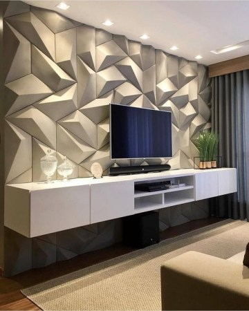 Stylish Bedroom Design Ideas With Tv Wall To Try Asap 10