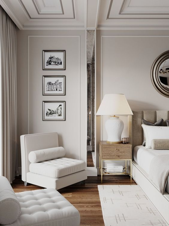 Stylish Bedroom Design Ideas With Tv Wall To Try Asap 22