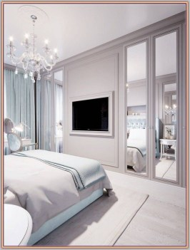Stylish Bedroom Design Ideas With Tv Wall To Try Asap 37
