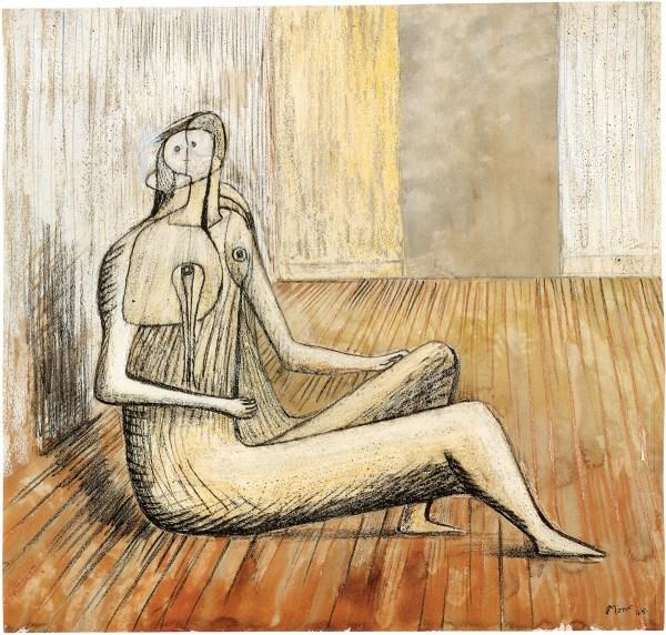 Henry Moore Drawings Art Of Gagosian