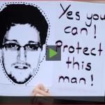 Snowden released