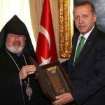 Turkish PM hosts Istanbul-Armenian patriarch