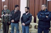 Four Assyrian hostages from the 23 who have been released earlier by ISIS