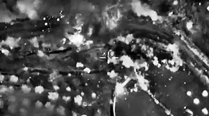 Russian military space forces strike ISIS targets in Syria