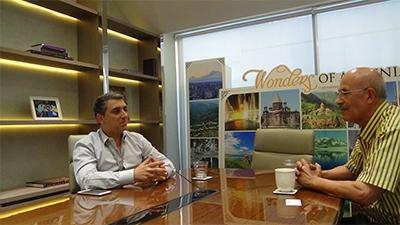 Honorary Consul of the Republic of Armenia, Arto Artinian, Bangkok