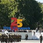 Video: Yerevan Armenia 25th Independence Day: rehearsals for military parade