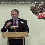 VIDEO:  U.S. Amb. Evans Sacrificing diplomatic Career by telling the truth, Armenian Genocide
