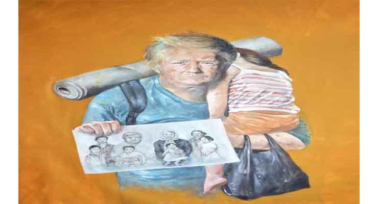Trump as refugees