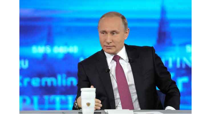 Putin says US not Russia's enemy