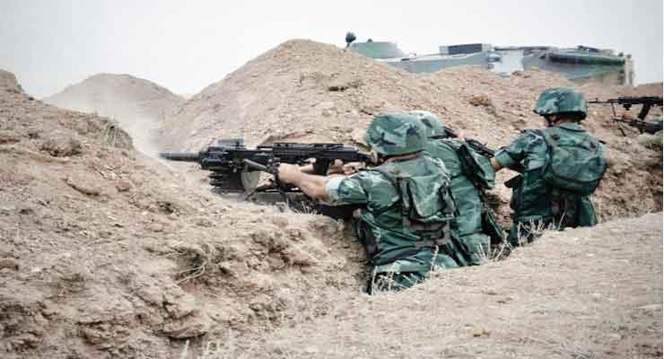 Nagorno-Karabakh servicemen wounded