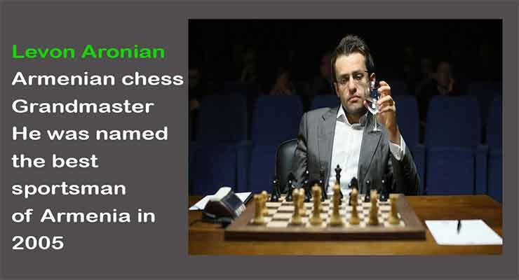 Armenia's Levon Aronian