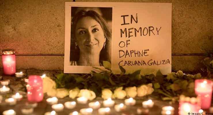 slain journalist Daphne Caruana Galizia